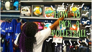 How To BUY a VOLLEYBALL !