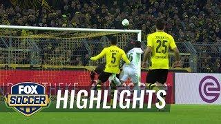 Borussia Dortmund vs Werder Bremen  2017-18 Bundesliga Highlights