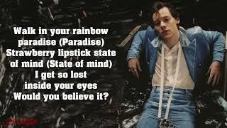 Harry Styles - Adore You (Lyrics) 4k