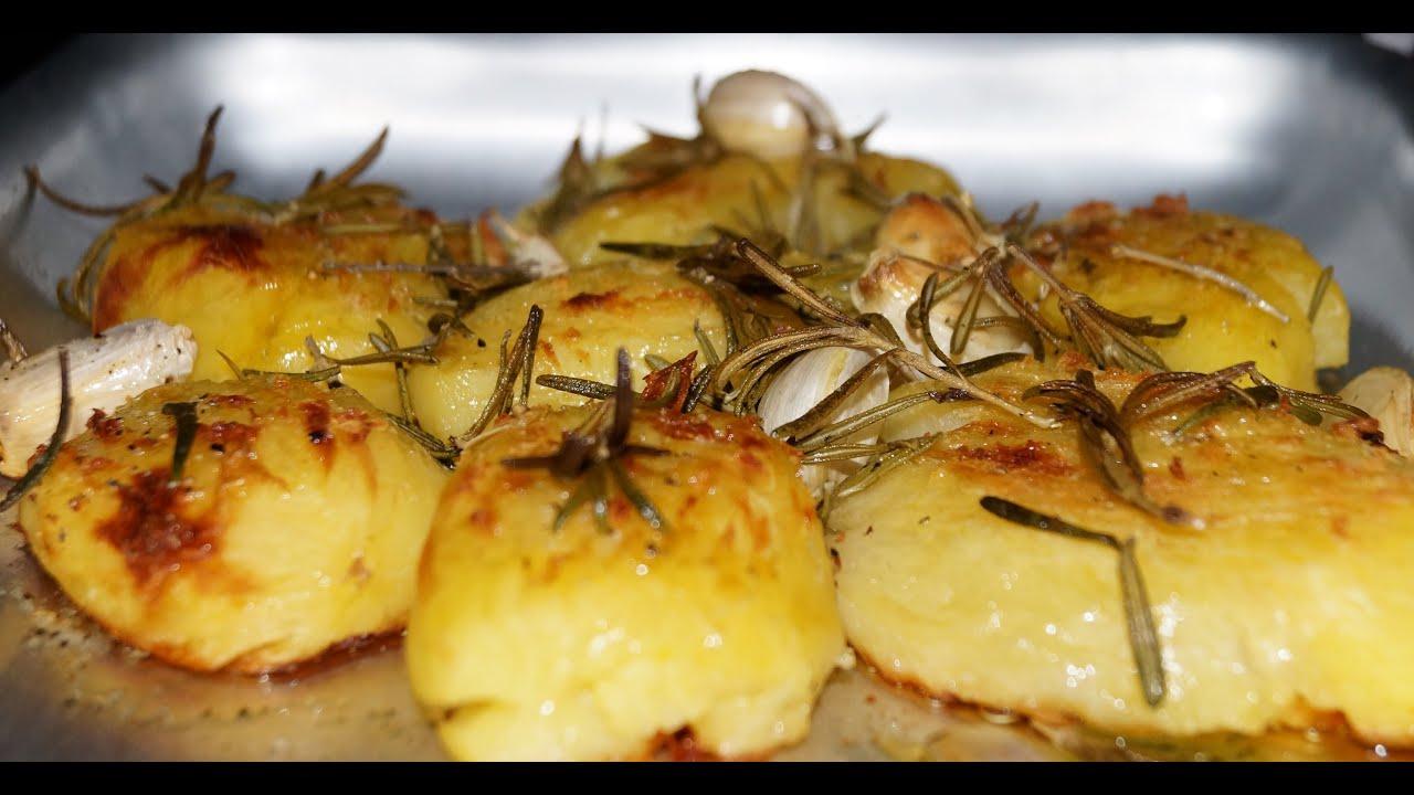 картошка в духовке рецепт на видео
