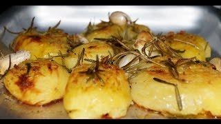 Как запечь картофель (Картошка в духовке) Видео рецепт.(Как запечь картофель до золотистой корочки в духовке, смотрите видео рецепт: https://youtu.be/S6xHNbgc4HI Для приготовле..., 2016-01-06T17:55:17.000Z)
