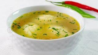 Supa de pui cu galuste | JamilaCuisine