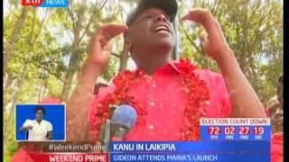 KANU big wigs officiate the launch of Maina Njenga's senatorial bid as he opens KANU Nanyuki offices