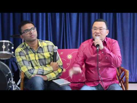 Conversations with Pastor Tom Chin @ Bangalore Revival Center