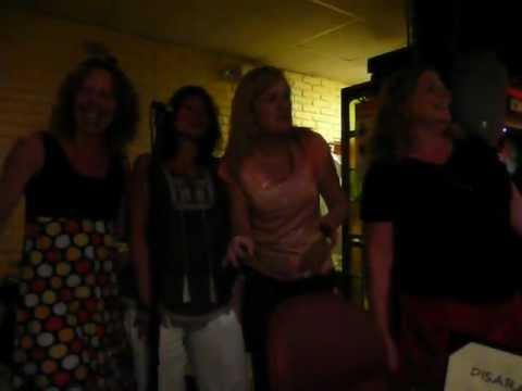 Karaoke at DiSara Restaurant in Staten Island