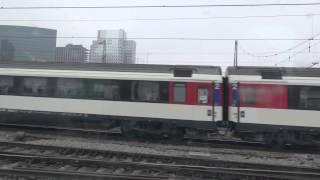 ベルギー、空港からブリュッセルまでの鉄道車窓 (No sound. Belgium ~Brussels)
