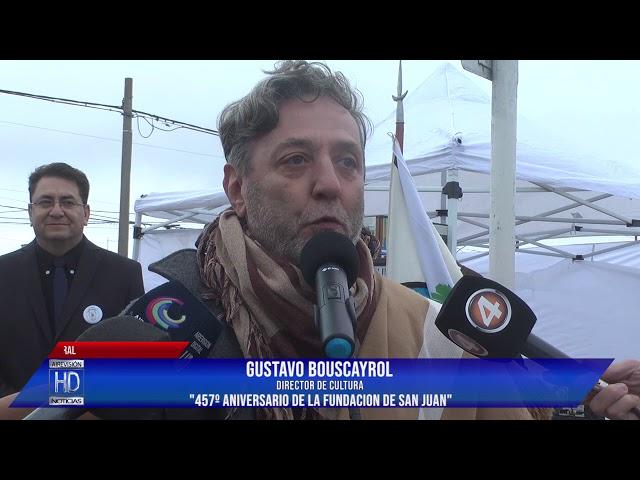 Gustavo Bouscayrol  457º Aniv San Juan
