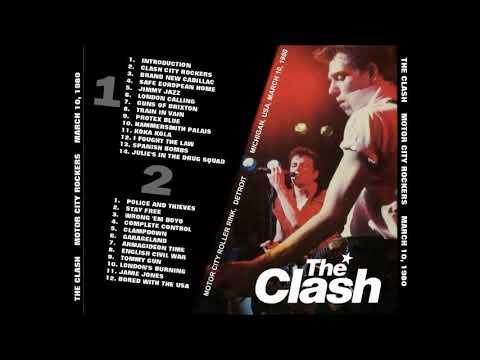 the clash motor city rockers full remastered live album youtube. Black Bedroom Furniture Sets. Home Design Ideas