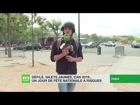 Regain de tensions sur les Champs-Elysées