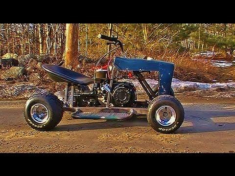 Repeat First test ride on racing Predator 212, Doodle Bub mini bike