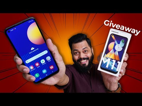 Samsung Galaxy M11 Unboxing & First Impressions ⚡⚡⚡5000mAh Battery, Infinity-O Display & More