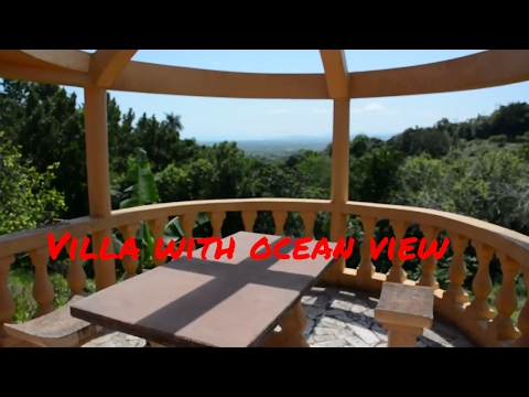 Villa for sale in Domincan Republic with nice ocean view, 20 min. from Sabaneta