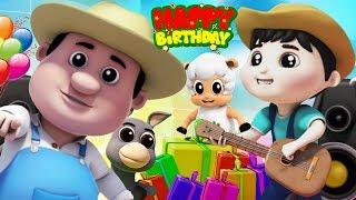 С днем рождения песня | детские рифмы | Happy Birthday Song