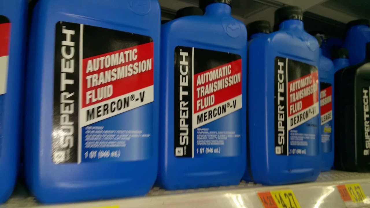 REVIEW- Walmart SUPERTECH Transmission FLUID-IS IT ANY GOOD?