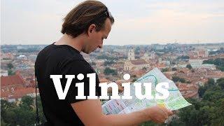 ¿Qué ver en Vilna (Vilnius) en una tarde? | LITUANIA | Viajando con Mirko