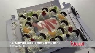 Partijen Bronckhorst plakken verkiezingsposters