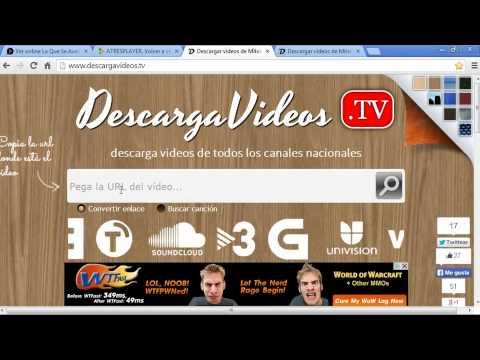Descargar videos de la página web de Telecinco y Antena 3 de forma directa