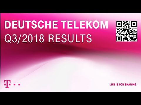 Social Media Post: Deutsche Telekom's Q3-2018 investor conference call