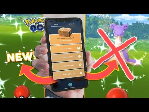 LAPRAS REMOVED FROM QUESTS + NEW SHINY POKÉMON! (Pokémon GO Research Update) thumbnail