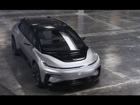 Faraday Future FF91 Revealed..!! Stated 1050 total horsepower from two rear-mounted electric motors