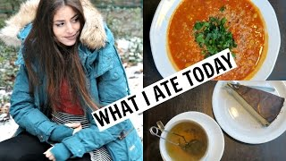 What I Ate On My Last Day In Poland! + ITS SNOWING!!!