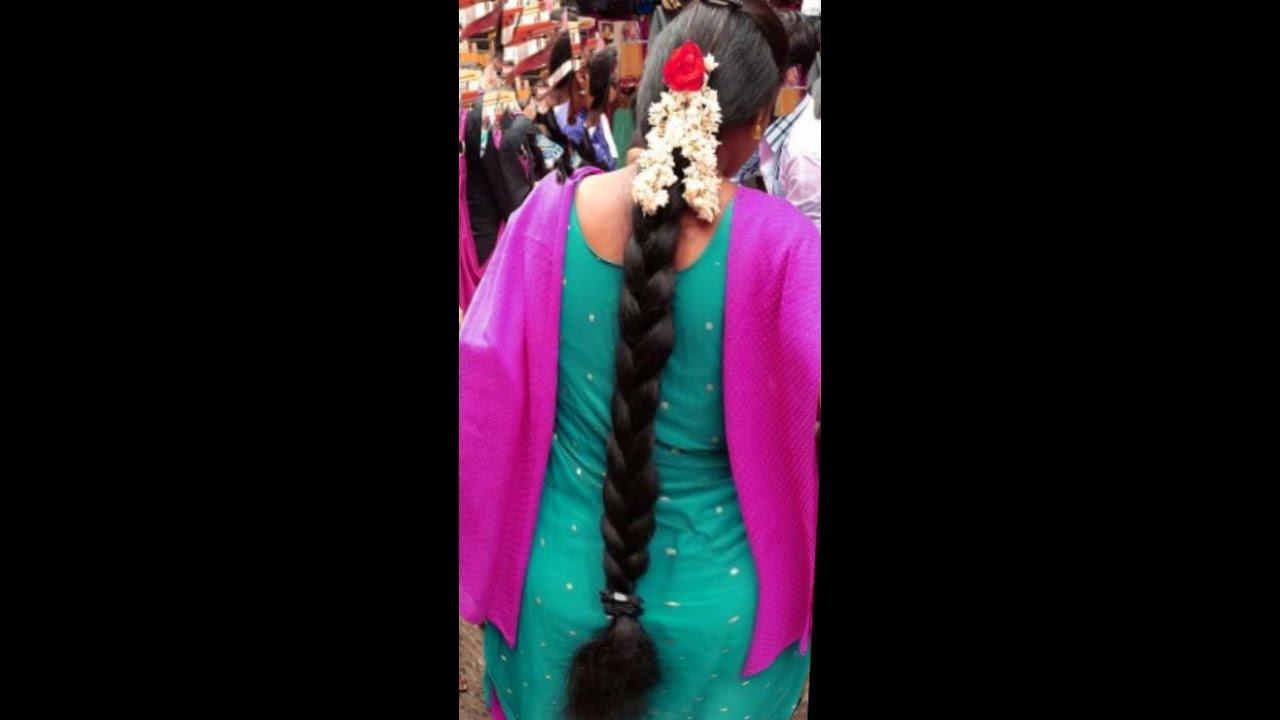 Beautiful long hair Braid - YouTube