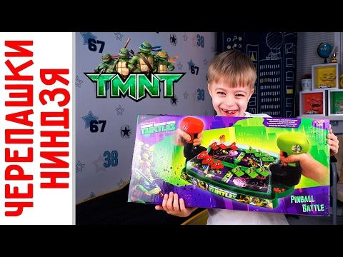 Игра Черепашки Ниндзя от Nikelodeon! Pinball Battle #TNMT