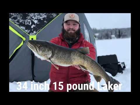 Lake Louise Ice Fishing