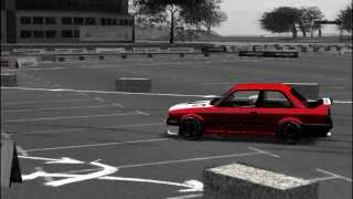 LFS| BMW e30 Drifting (part 3 ) Logitech Formula Vibration Feedback by ME4KY