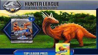 Jurassic World Game Mobile #91: Khủng long mới Amargasaurus đi săn khủng long