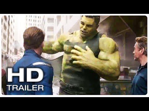 AVENGERS 4 ENDGAME Hulk Smash Scene Trailer (NEW 2019) Marvel Superhero Movie HD
