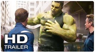 AVENGERS 4 ENDGAME Hulk Smash Scene Trailer (NEW 2019) Marvel Superhero Movie HD