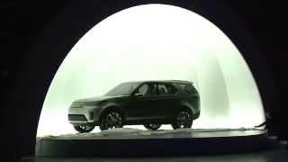 Презентация концепта Land Rover Discovery Vision