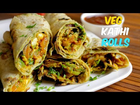 Best Veg Kathi Roll | Easy Vegetable Roll Recipe | By Chef Aadil Hussain