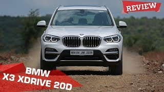 2018 BMW X3 xDrive 20d Review | Sweetest Handling X? | ZigWheels.com