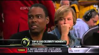 Repeat youtube video Sports Center Top 10- Celebrity Moments