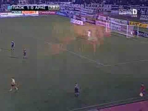 Paok - Aris (Greek Super League) 2008-2009