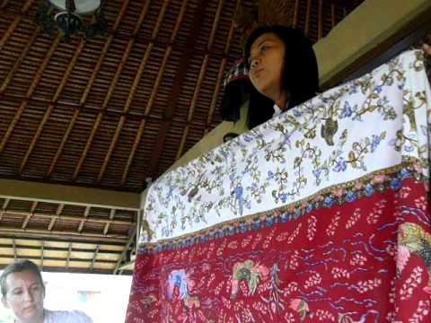 Bali Textiles Workshop -- Batik Technique