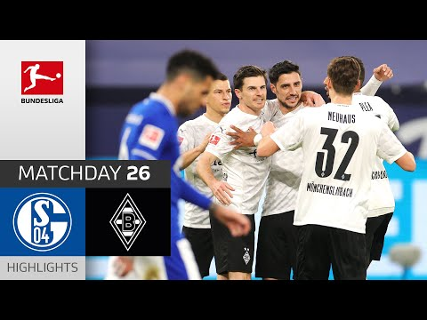 Schalke Borussia Moenchengladbach Goals And Highlights