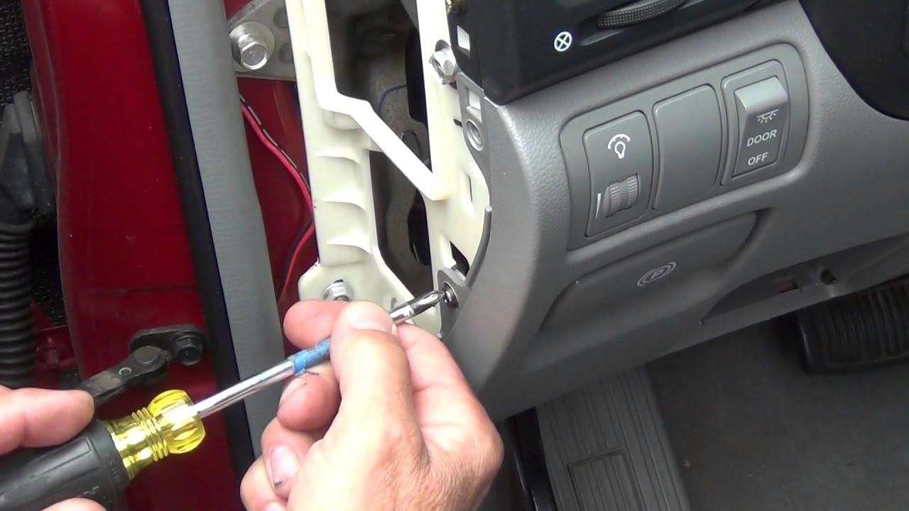 How To Replace Brake Light >> Replace brake lights switch for Hyundai Entourage, Kia ...