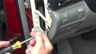 How To Replace The Brake Light Switch On Hyundai Sonata 2006 2007 2008 2009 2010 Abs Esc Light