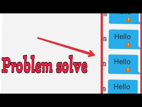 How To Fix Message Not Send Problem Solve in Airtel