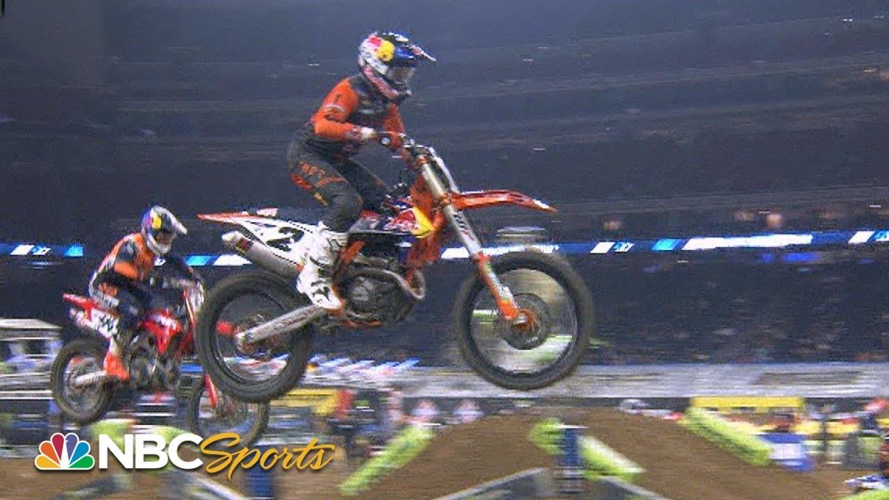 Round 3 Houston Supercross Video Highlights!