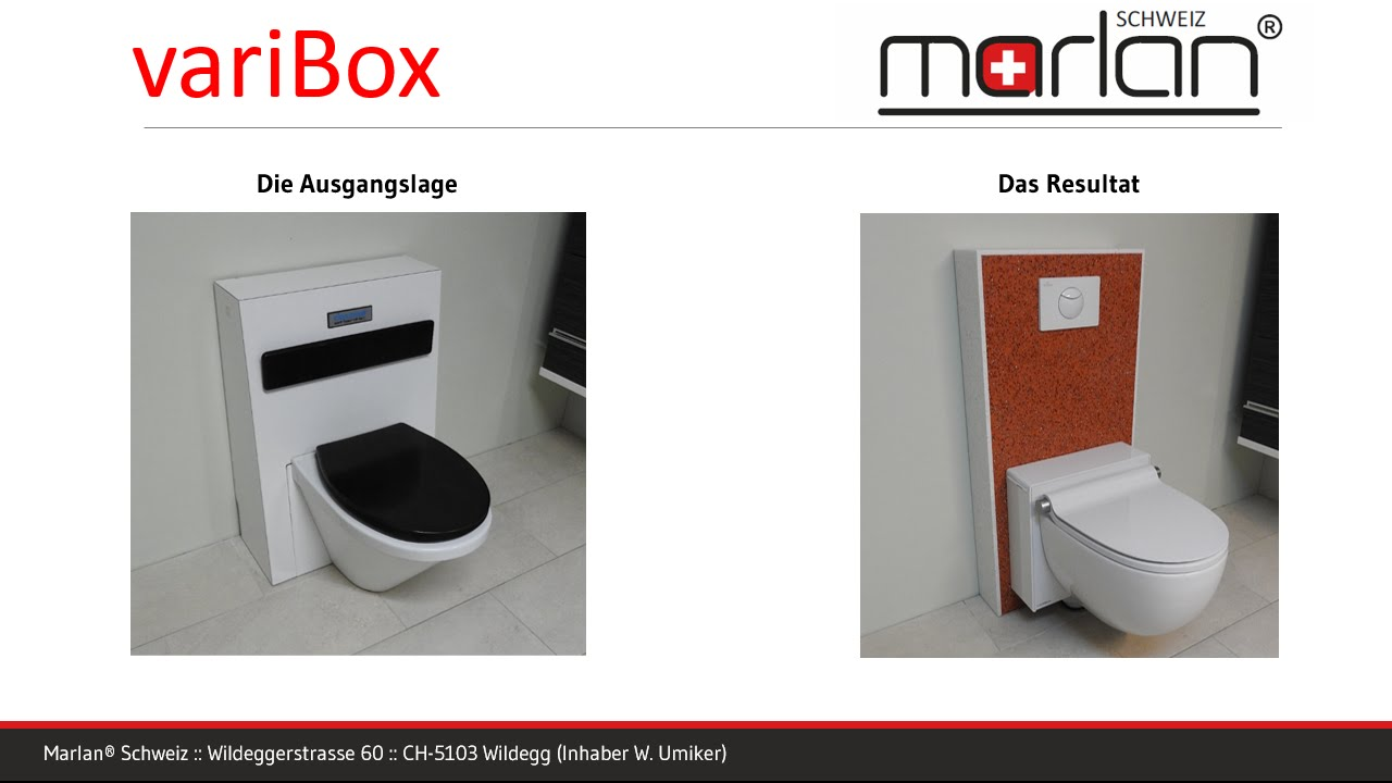 varibox umbau einer standtoilette zur wandtoilette youtube. Black Bedroom Furniture Sets. Home Design Ideas