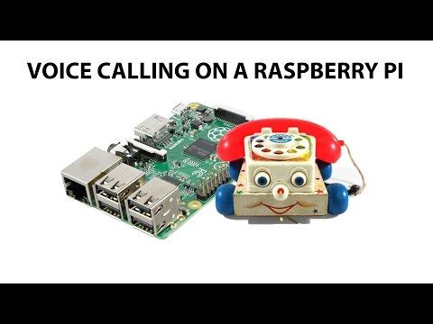 Phone Calling on a Raspberry Pi