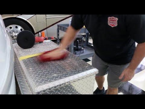 Scamp Trailer Diamond Plate Restore