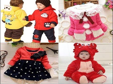 c146a6bf5b98 Latest Baby Winter Clothes || Baby Winter Dress Designs || Kids Winter Dress  Collection || 2017