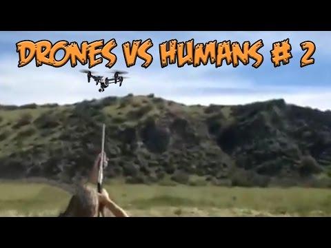 Top 5 Drones vs Humans # 2