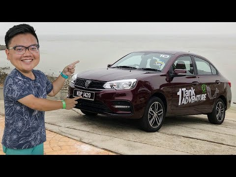 2019 Proton Saga - 650 Km In One Tank Of Fuel! 1-Tank Adventure Plus Full Review