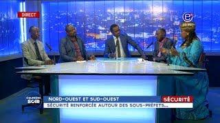EQUINOXE SOIR (NORD-OUEST/SUD-OUEST: Sécurité renforcée autour des sous-préfets) du 21/09/2018